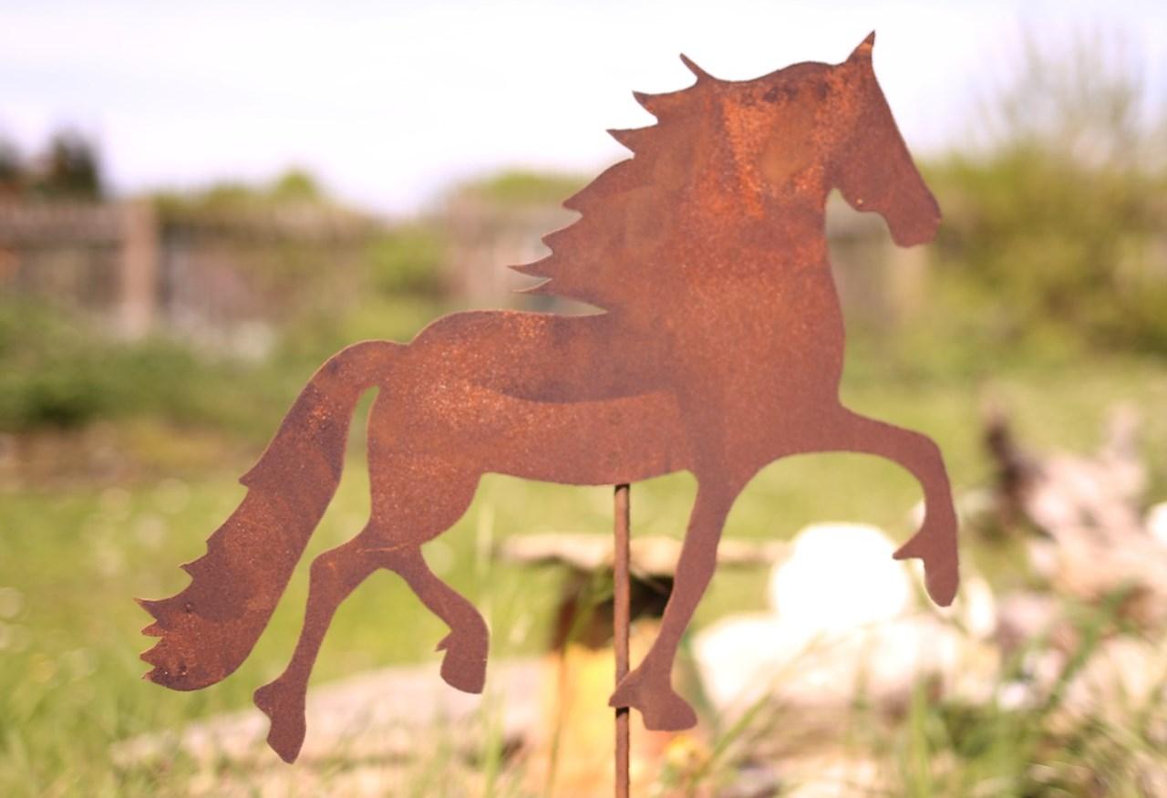 Pferd Barock Edelrost Rost Deko Manufakt Design Hammelburg