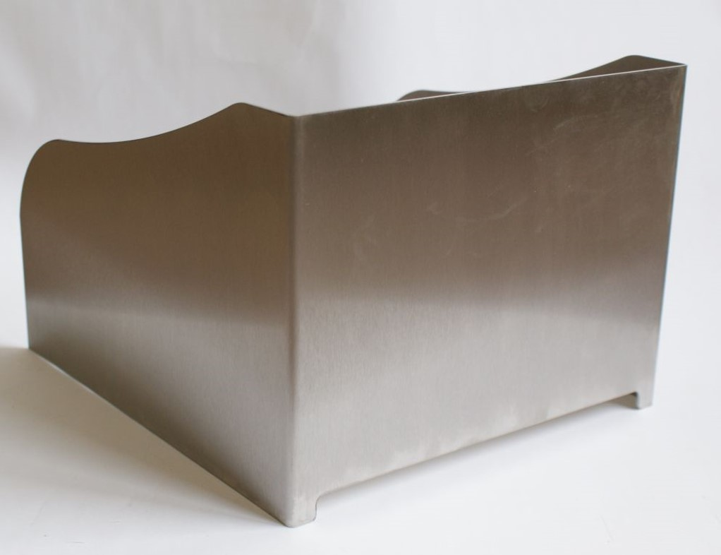 Rösle Gasgrill Rund : Windschutz für rösle gasgrill rund g s edelrost rost deko